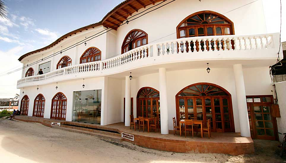 Hotel Albemarle frontage