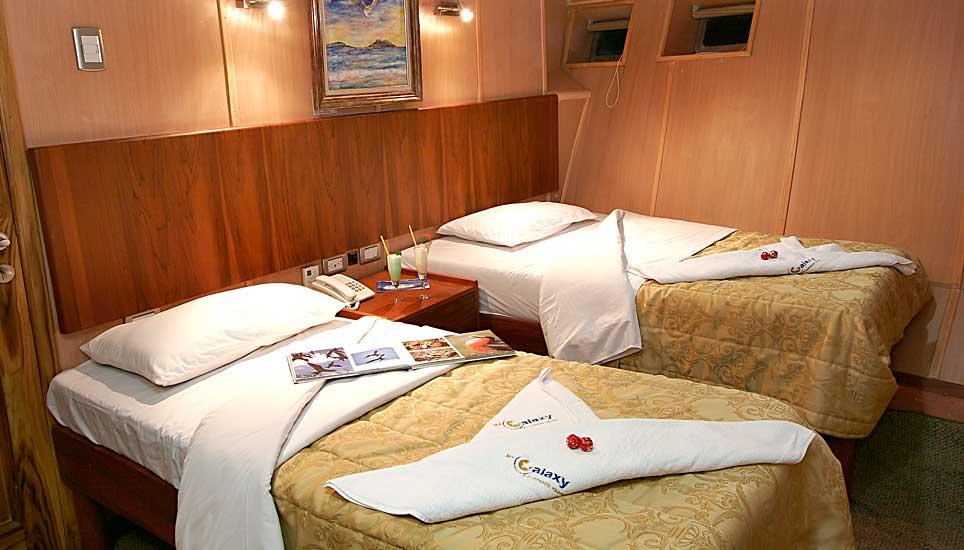 Galaxy cabin