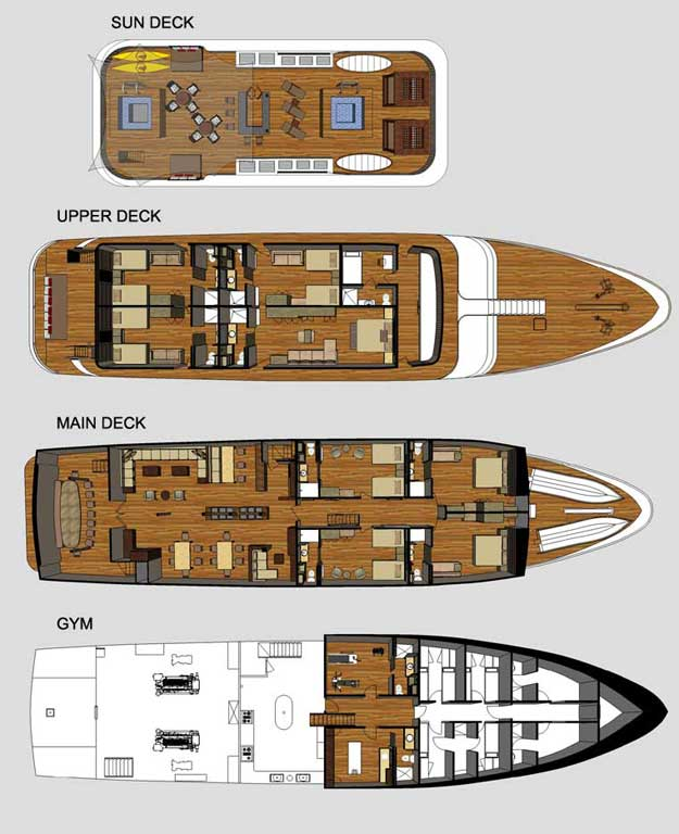 Grand-odyssey Deck Plan