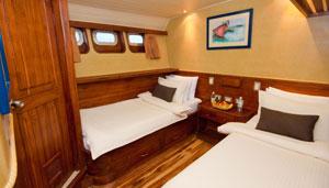 Galaven Main-deck-twin-cabin