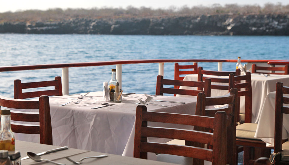 Millennium deck dining