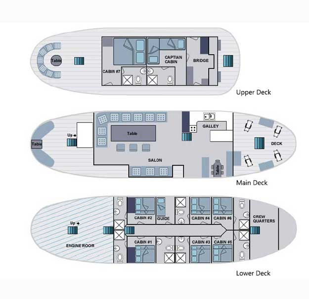 Samba Deck Plan