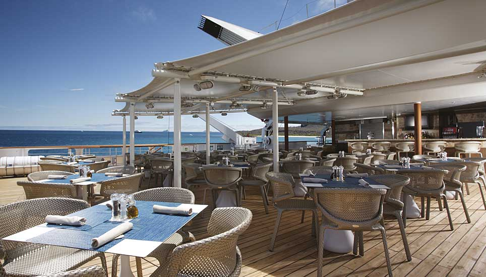 Silver Galapagos deck