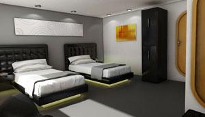 Petrel Twin-stateroom