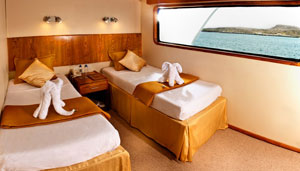Galaxy Upper-deck-cabin