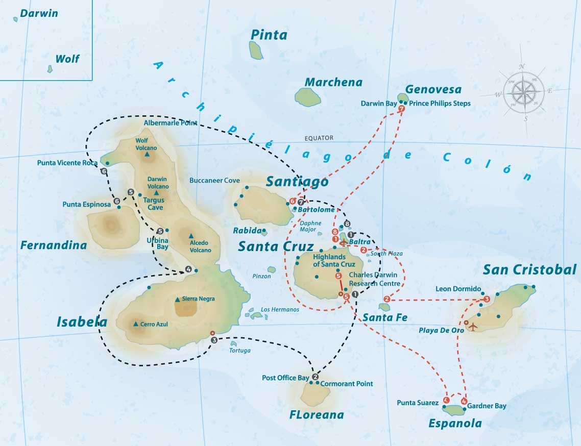 beluga-itinerary-map