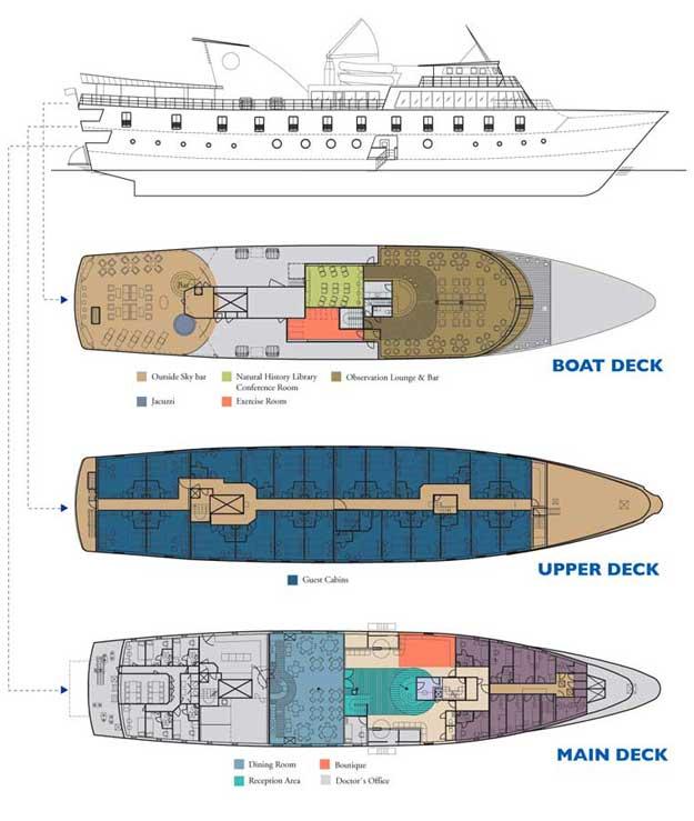 la-pinta Deck Plan