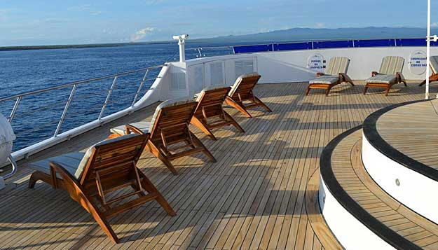 Ocean Spray deck