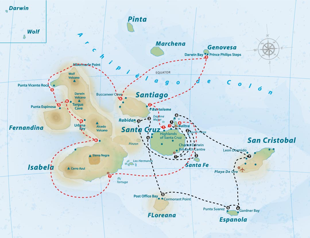 tip-top-iii-itinerary-map