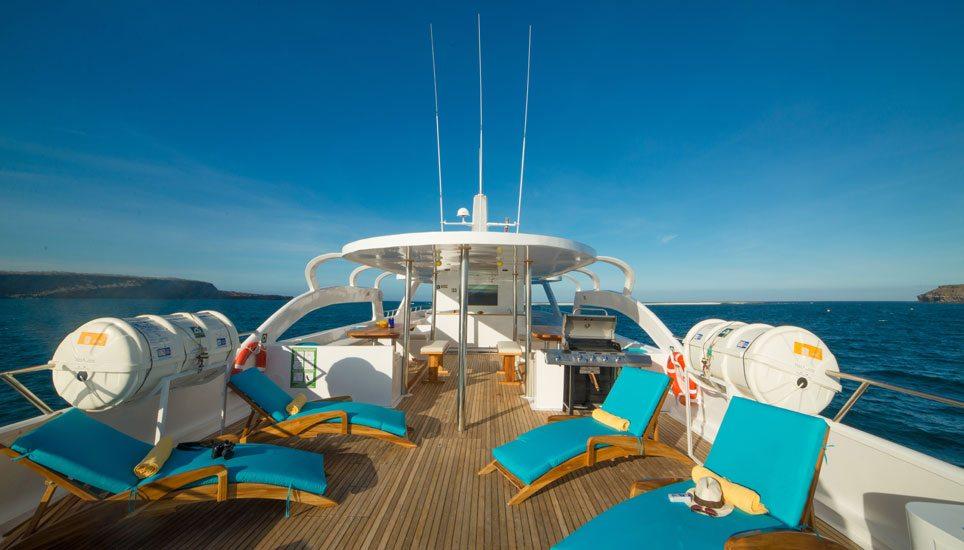 Majestic rear deck