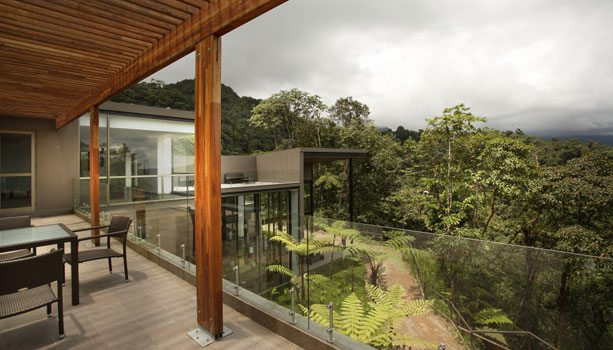 Mashpi Lodge in the cloudforest