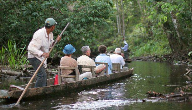 Napo wildlife centre boat trip