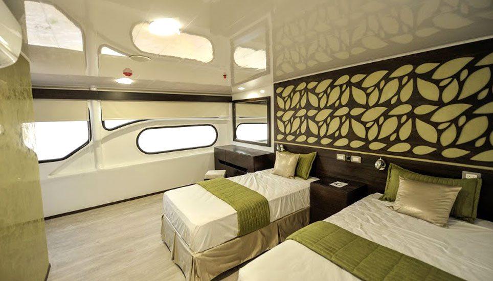 Galaxy II EcoCatamaran cabin
