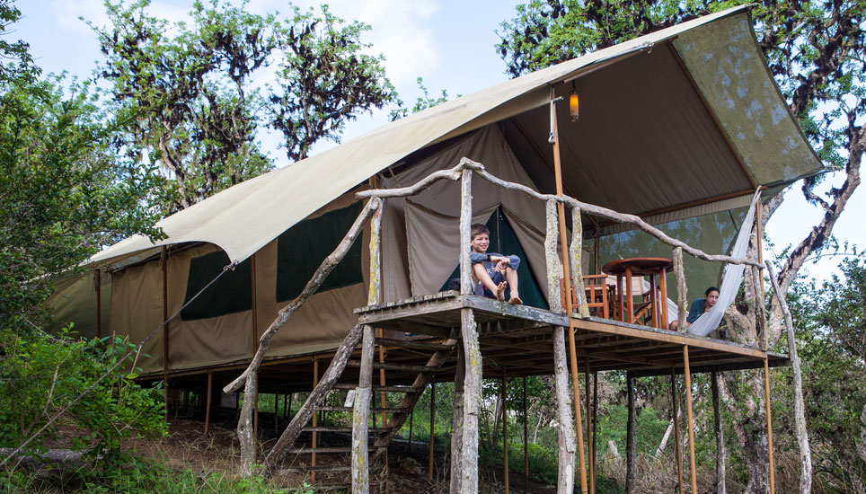 Galapagos Safari Camp accommodation