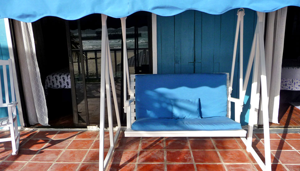 Isabela Beach House swing seat
