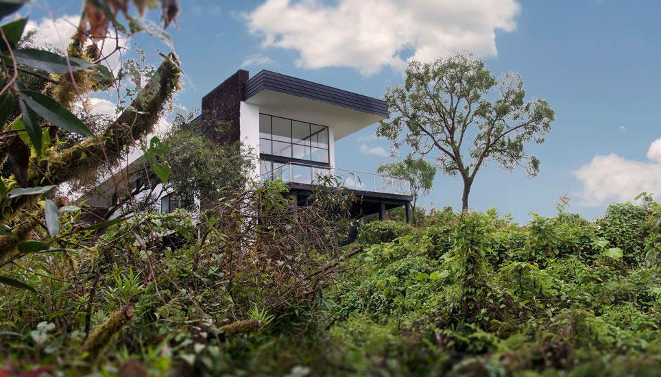 Scalesia Lodge exterior